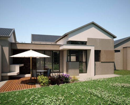 Hill Residence Detailed view - designed by SL Architects Pretoria