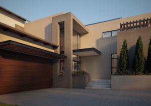 SL Architects - Boshoff Residence Entrance View