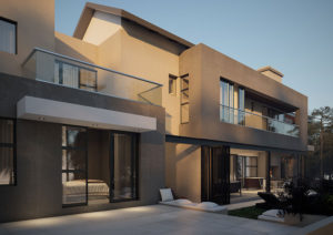 SL Architects - Boshoff Residence North View